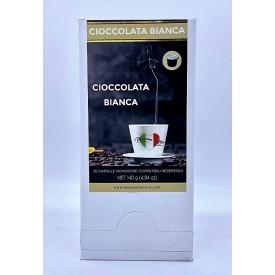 miscela solubile di cioccolato bianco mamma mia italia