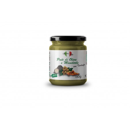 paté di olive e mandorle con tartufo mamma mia italia